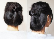 2 Quick Casual Updo For Long Hair