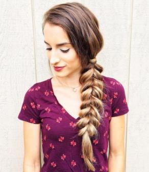 2 Side Braid Hairstyle For Long Hair