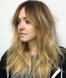 23 Choppy And Disheveled Long Style For Fine Hair