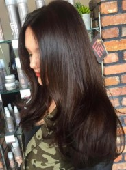 8 Long Brunette Hairstyle