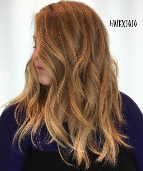 9 Medium Choppy Wavy Hairstyle