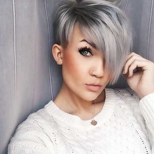 Asymmetrical Short Hairstyles Ideas 2018.