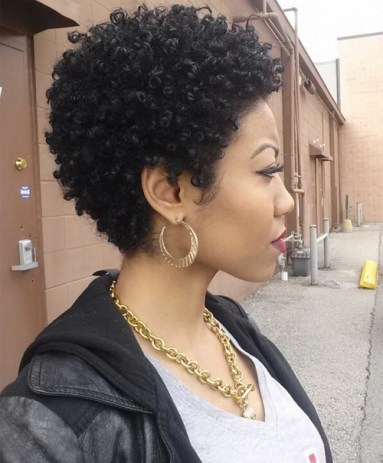 Black Short Curly Hairstyles 2018 11