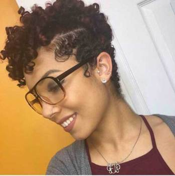 Black Short Curly Hairstyles 2018 5