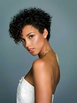 Black Short Curly Hairstyles 4