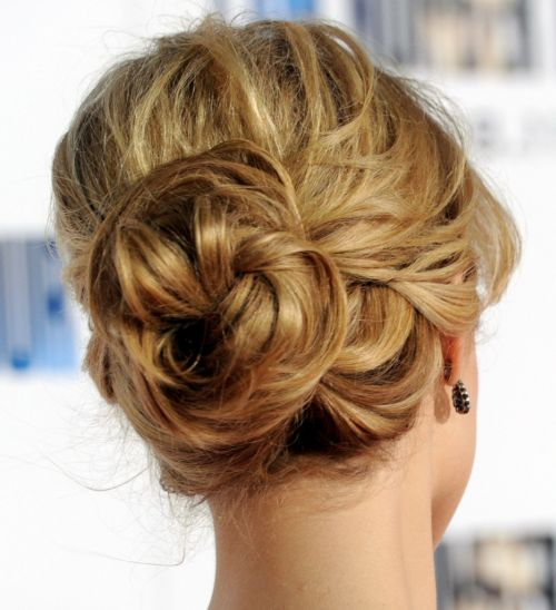 65 Best Casual Updos For Long Hair - Hairstyles Fashion ...