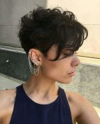 Curly Pixie Hair 38