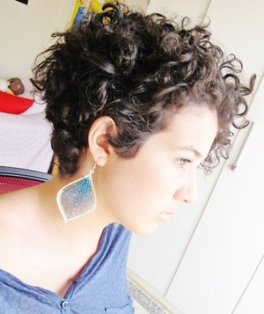 Curly Pixie Hair 60