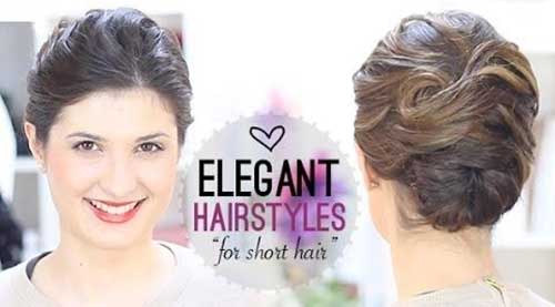 Elegant Hairstyles For Short Hair 8