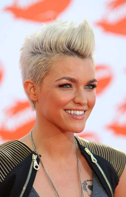 Hairstyle Ideas For Short Mohawk