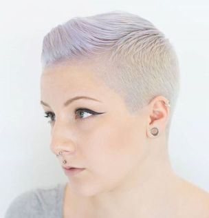 9 Womens Short Ash Blonde Hairstyle