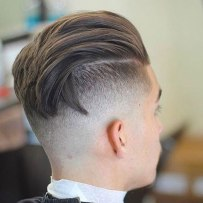 High Undercut Fade With Textured