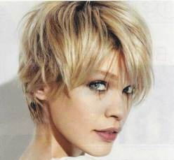 Messy Cool Short Pixie