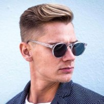 Taper Fade With Textured Side Swe