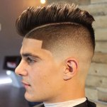 Undercut Fade With Comb Over