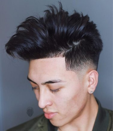Baldysbarbers Hairstyles For Asian Men Medium Length Messy Fade E1519926124350 886x1024