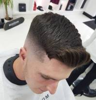 Caolamohare Quiff Fade Haircuts For Thick Hair Men