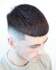 Chris Barbercode New Hairstyles For Men 2018 Crop Blunt Fringe