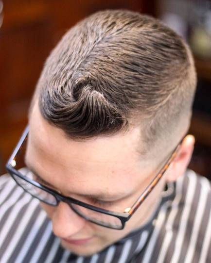 Jakebolland Quiff Hairstyle Men Short Hair