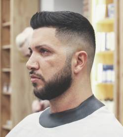 Nomadbarberbln Short Haircuts For Men With Thick Hair Fade Beard
