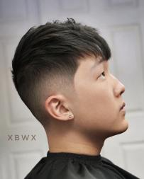 Xbigwesx Crop With Fringe And Fade