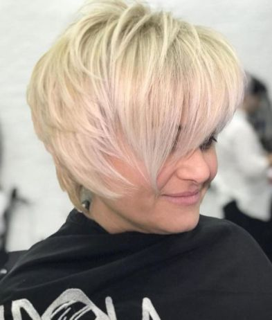 13 Short Hairstyle With Vcut Layers