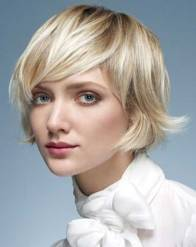 17. Short Haircut For Round Faces