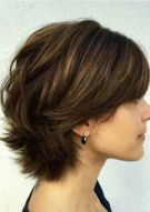 3 Short Layered Haircut For Thick Hairstyles