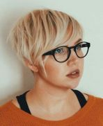 4 Chopped Blonde Pixie For Fine Hair