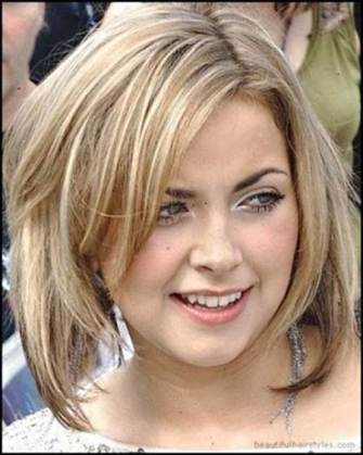 Best Short Hairstyles For Round Faces 24