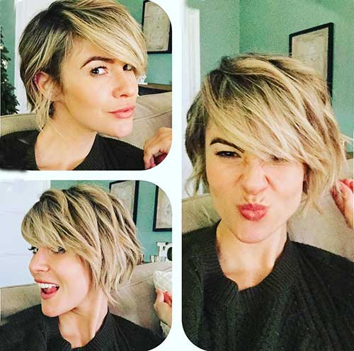 Short Hair Cut Women