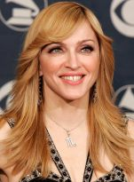Madonna's Quirky Bangs
