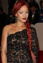 Rihanna Hairstyles Amazing Braided Hairstyle For Party