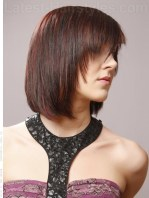 Short Razor Cut Hairstyle Angle