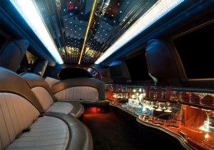 Ilimousines-ford exp interior