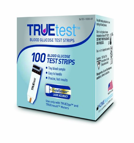TRUEtest Test Strips 100 Count Top Healthy Store
