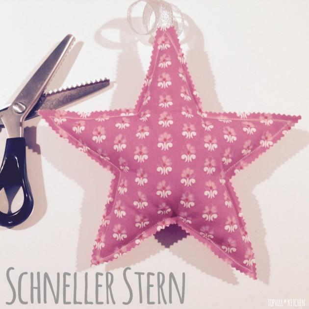 Schneller Stern | fix genäht und mit Anleitung