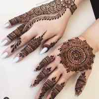 Beautiful Arabic Mehndi Designs for Ladies