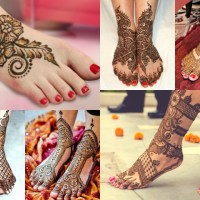 Latest Bridals Henna Designs for Hands and Feet