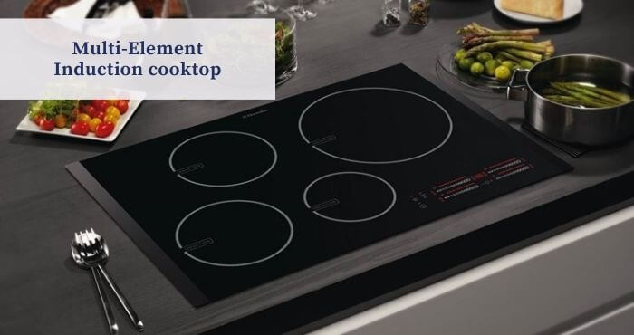 Multi-Element Induction cooktop