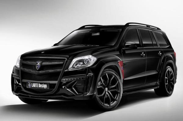 LARTE Design presented the Mercedes GL Black Crystal