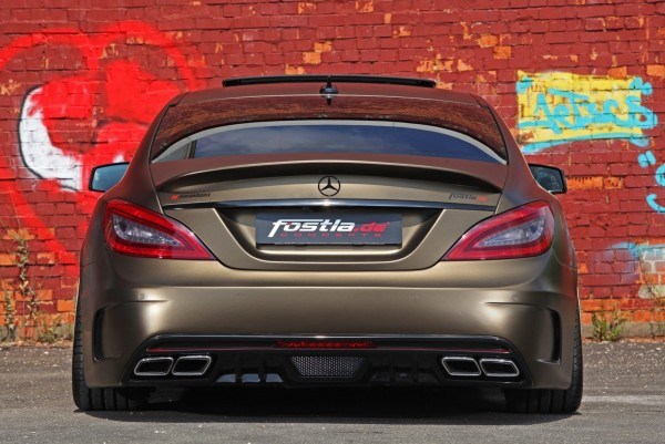 Fost and Mercedes-Benz CLS 350 CDI