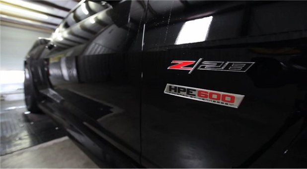 Hennessey-HPE600-Chevrolet-Camaro-Z28 - 1