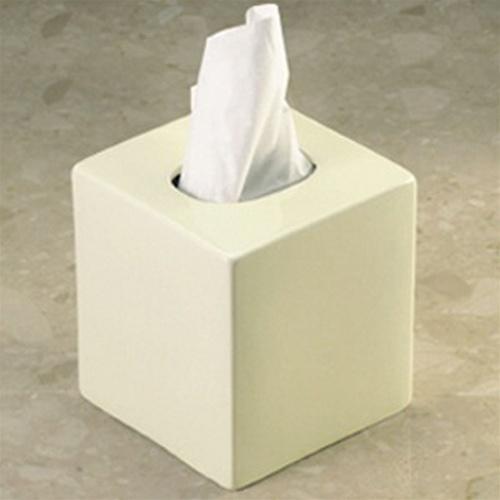 Porcelain boutique tissue box coverPorcelain by design