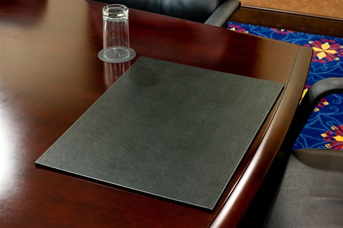 Black desk blotter No 849100