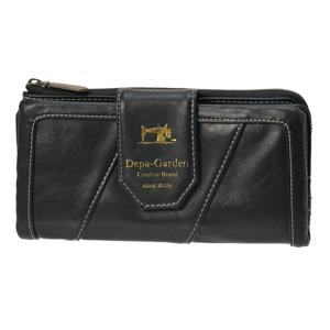 Depa-Garden sew 長財布 -ブラック