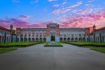 Rice University 莱斯大学大幅扩大招生规模