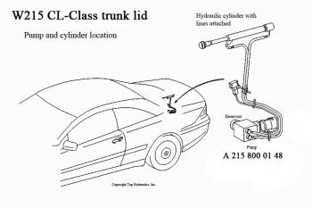 Mercedes Benz Convertible Top Hydraulic Cylinder Rebuild