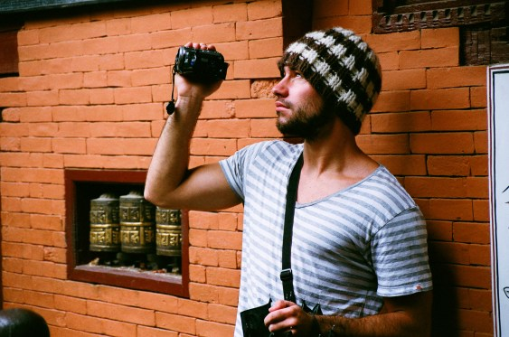 Avec le fameux bonnet perdu à Lukhla... © JanPier