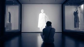 Museum contemporain de Melbourne avec ici une succession d'images à un rythme épileptique... J'suis fan ! © Yopich